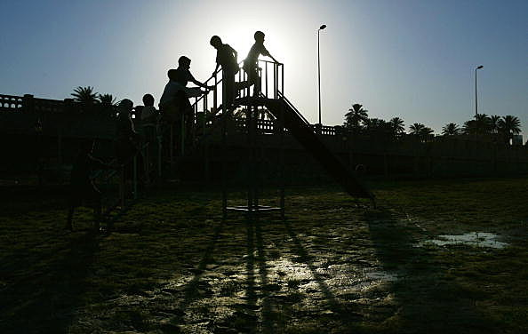 US Funded Playground Opens In Baghdad